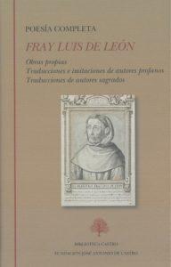 'Poesía completa', de Fray Luis de León