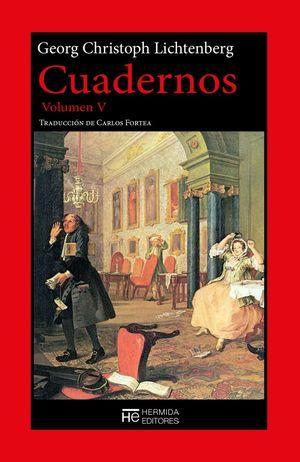Volumen V de los Cuadernos de Georg Christoph Lichtenberg