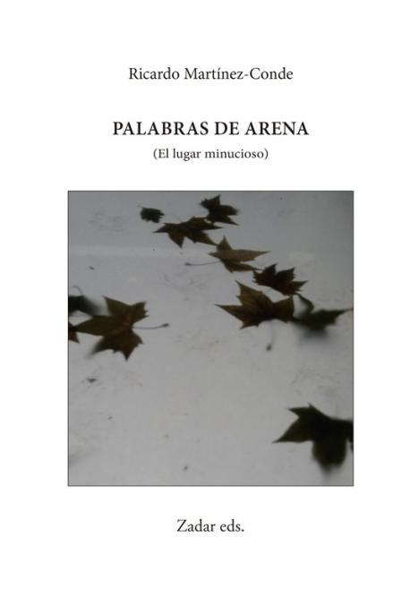 Palabras de arena (El lugar minucioso) de Ricardo Martínez-Conde