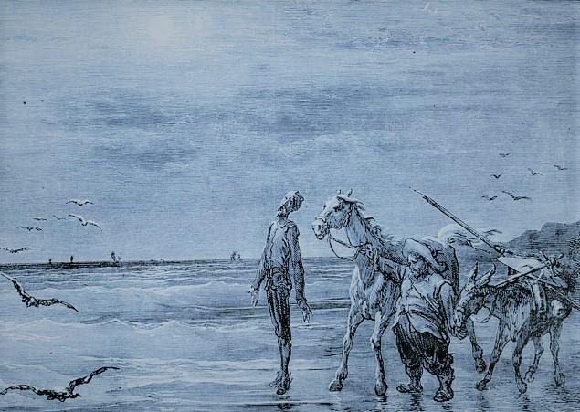 Don Quijote y el mar